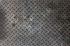Industriellt metalliskt golv arkivfoton