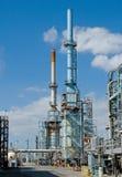 industriellt oljeraffinaderi Fotografering för Bildbyråer