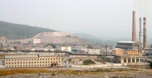 industriellt område Royaltyfria Bilder