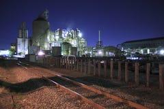 industriellt område Arkivfoton