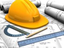 Industriellt plan vektor illustrationer