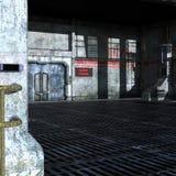 Industriellt rum av den tekniska avdelningen Fotografering för Bildbyråer