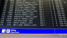 Industriellt slag i den Frankfurt flygplatsen, Tyskland royaltyfria bilder