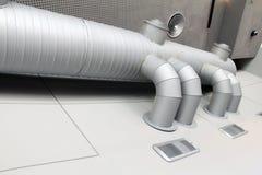 Industriellt ventilationssystem Arkivbilder