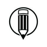 Industriellt yrkesmässigt arbetshjälpmedel som iscensätter blyertspennan, för bruk I Royaltyfria Foton