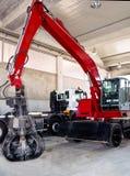 Industriemechanismus-Hochbau Lizenzfreies Stockbild