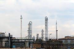 Industriepark Frankfurt Griesheim. Frankfurt, Germany - August 15, 2015: Industrial and chemical plant of Griesheim district of Frankfurt am Main Royalty Free Stock Image