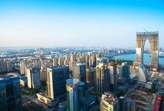 Industriepark Suzhous, Suzhou Stockfoto