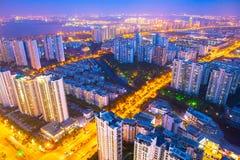 Industriepark Suzhous, Suzhou Stockfotos