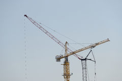 Industries cranes Royalty Free Stock Photos