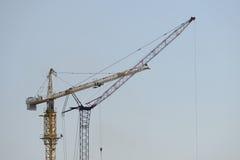 Industries cranes Royalty Free Stock Photos