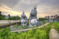 Industrieszene Lizenzfreies Stockfoto