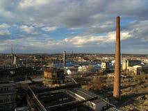 Industriezone Stock Afbeeldingen