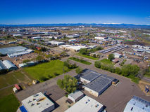 Industriezone in Denver Colorado Stock Afbeelding