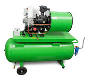 Industril air compressor Stock Images