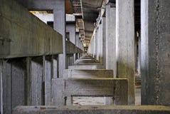 Industriële archeologie Royalty-vrije Stock Foto's