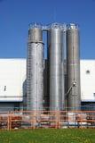 Industriële bunkers Stock Fotografie