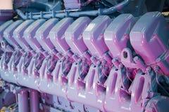Industriële motor Royalty-vrije Stock Afbeelding