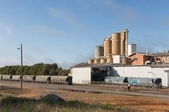 Industriële plaats Narrandera Stock Afbeelding