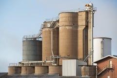 Industriële plaats Narrandera Stock Afbeeldingen