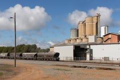 Industriële plaats Narrandera Royalty-vrije Stock Afbeeldingen