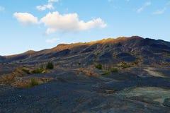 Industriële woestijn - ecologische ramp in Karabash, Rusland milieu Stock Afbeeldingen