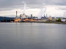 Industriområde royaltyfri foto