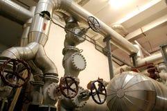 industrirørsystem Fotografering för Bildbyråer