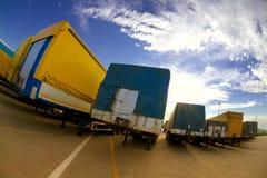 industritransport royaltyfri fotografi