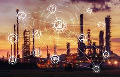 Industry 4.0 Concept Image Royalty Free Stock Photography