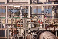 Industry. A detail of chemical industry Royalty Free Stock Photography