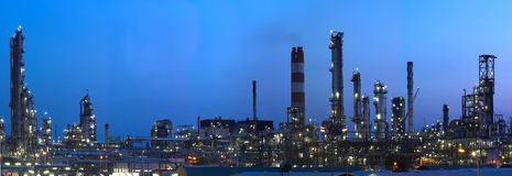 Industry 7 (big panorama) Stock Images