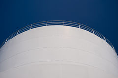 Industry. Detail of an industrial building Royalty Free Stock Photography