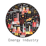 Industry background Stock Image