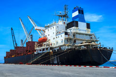 Industry Boat. Shipping Industry Ship Big Boat Royalty Free Stock Photos