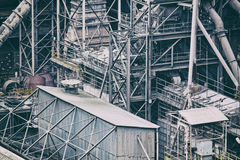 Industry building background Stock Photos