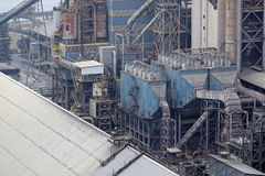 Industry building background Stock Image