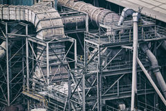 Industry building background Royalty Free Stock Photography