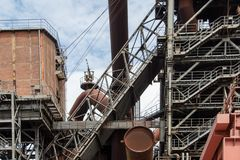 Industry, Building, Structure, Iron stock photo