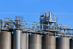 Industry Bulk Tank / Silo Stock Images