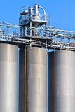 Industry Bulk Tank / Silo Royalty Free Stock Image