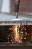 Industry burn Royalty Free Stock Photo