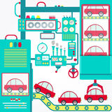 Industry of car Royalty Free Stock Image
