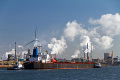 Industry cargo ship Stock Photography