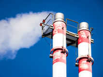 Industry chimney Royalty Free Stock Image