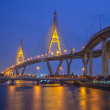 Industry Circle bridge in Bangkok Royalty Free Stock Photo