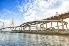 Industry Circle Bridge Stock Image