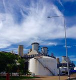 Industry and clouds Royalty Free Stock Image