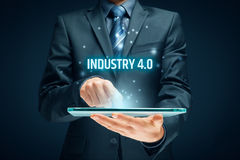 Industry 4.0 concept Royalty Free Stock Image