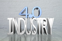 Industry 4.0 concept Royalty Free Stock Photo